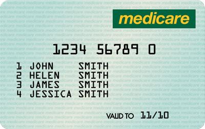 Medicare card bondi junction 7 day medical centre medicare card ccuart Images