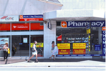 Pharmacy Bondi Junction